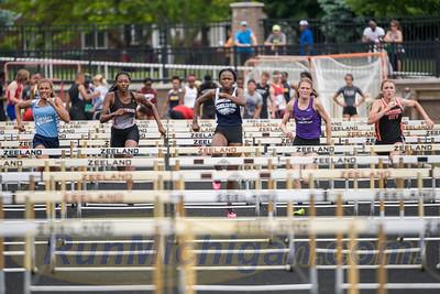 110M Hurdles Girls' Final - 2016 MHSAA LP D2 TF Finals