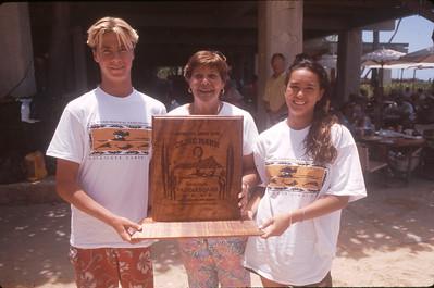 13th Annual Cline Mann 5K Paddleboard Race 8-9-1997