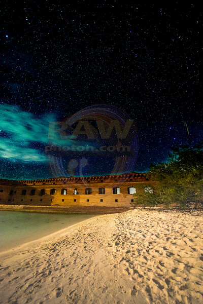 Fort Jefferson Night Sky white beach.jpg