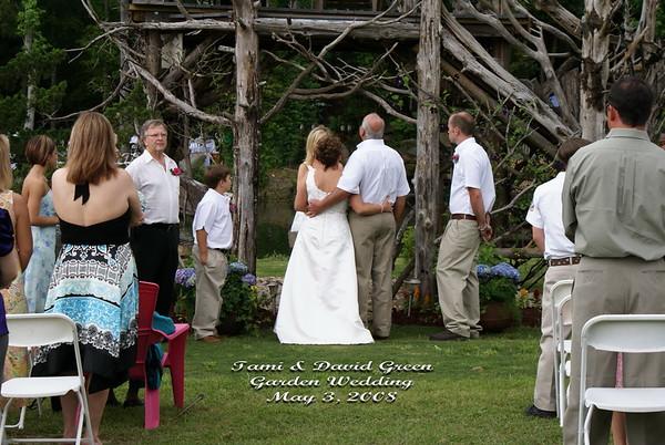 Tami & David Green - Garden Wedding