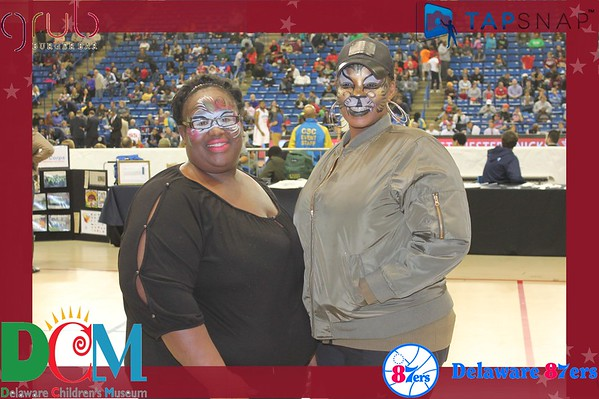 Delaware 87ers First Home Game