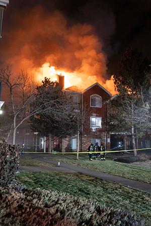 Trenton Way 3rd Alarm Apartment Fire