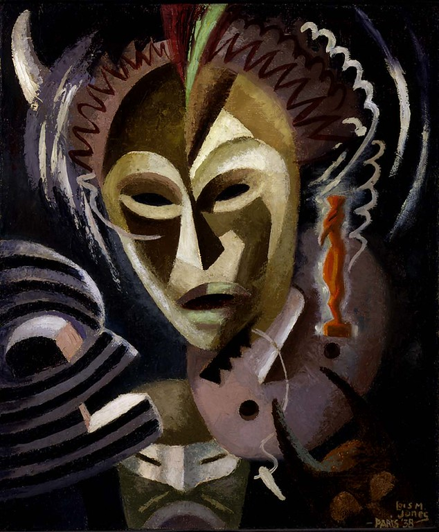 """Lois Mailou Jones, """"Les Fetiches,"""" 1938"""