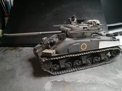 Sherman Firefly 1C hybrid