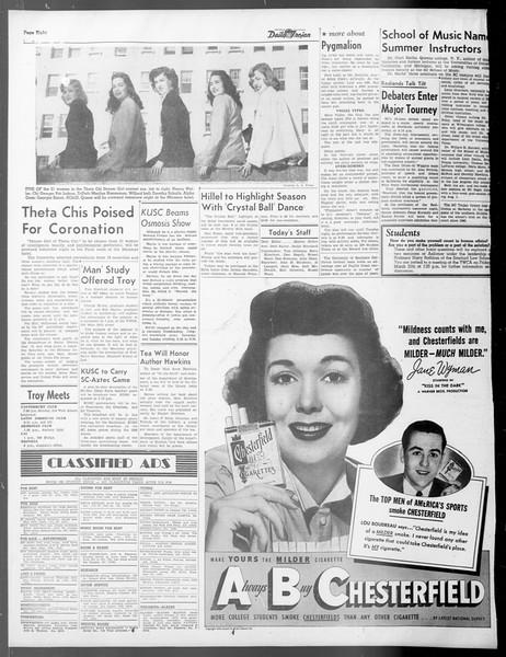 Daily Trojan, Vol. 40, No. 106A, March 26, 1949