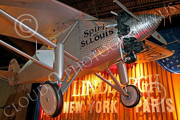 Charles Lindbergh's Ryan Spirit of St Louis Airplane Pictures