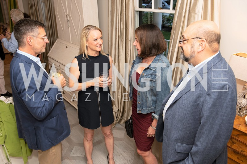 Kim Wehle with guests2. Photo by Yasmin Holman. Kim Wehle Book Event. Chevy Chase. 09.14.19
