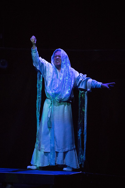 Randall Wong as The Polar Spirit