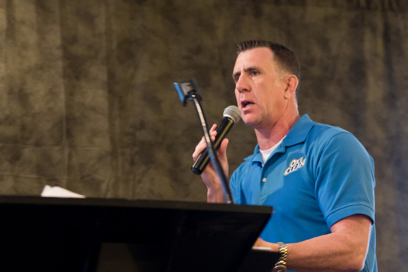 Guest Speaker Anthony Sullivan, English entrepreneur and infomercial pitchman for Sullivan Productions