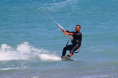 Canon M50 - First outing - Kitesurfing