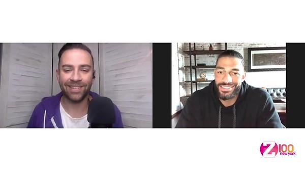 Roman Reigns - Screencaps / Z100 NY Interview