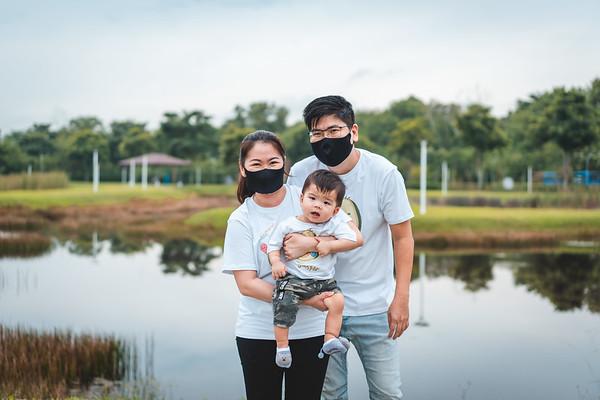 Whitney & Kah Huat Family Photos