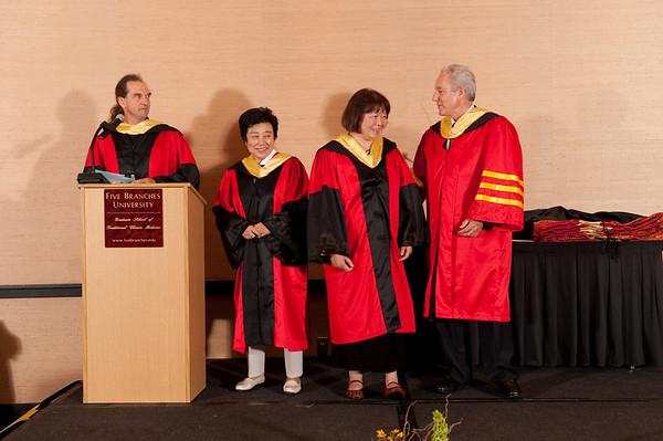 Graduation - Santana Row June 2009 - Diplomas