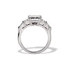 3.43ctw Emerald Cut Diamond 5-Stone Ring by Leon Mege, GIA F SI1 1