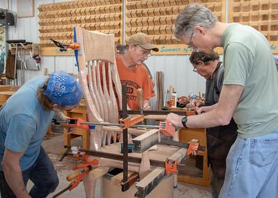 Sculptural Rocking Chair II