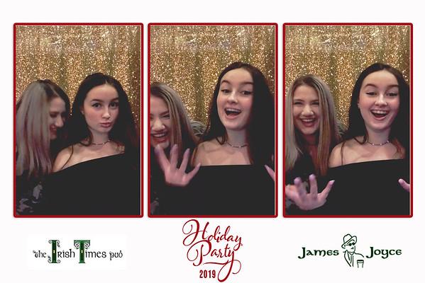 James Joyce & Irish Times Holiday Party