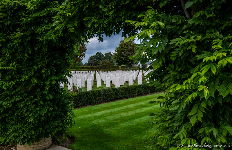 Bayeux Commonwealth Cemetery, Normandy
