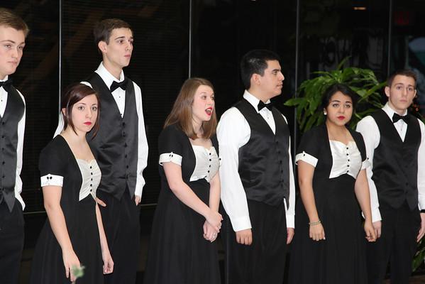 Choir at Admin 12/13/2013