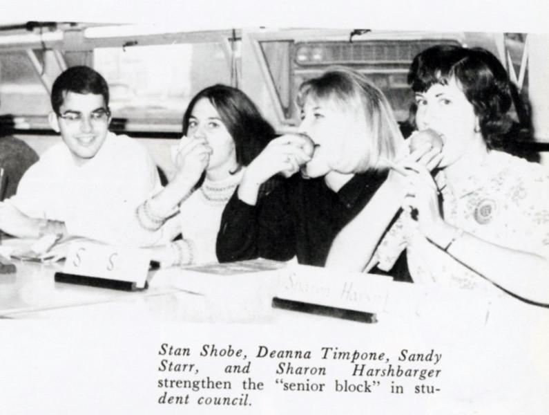 Stan Shobe, Deanna Timpone, Sandy Starr, Sharon Harshbarger
