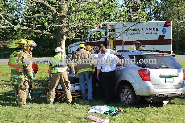 5/24/18 - Mason injury crash, 1746 Barnes Rd