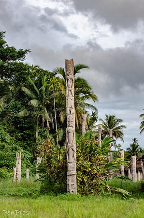 Gavamus Lake  Village ~Kanda Tribe  Lower Sepik