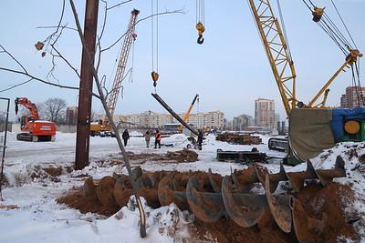 06.02.19 Строительство станции метро на Сахарова (Михаил Захаров )