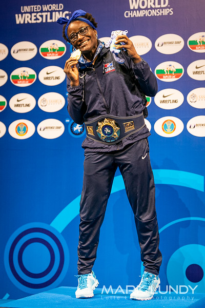 Tamyra Mensa Stock 68kg World Champion - 2019 World Championships