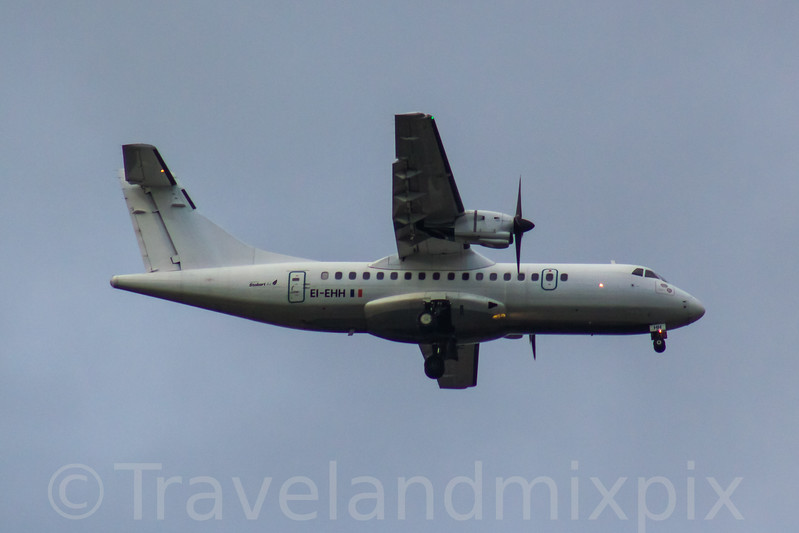 EI-EHH Stobart Air ATR 42-300 Glasgow Airport 08/02/2017 On an Aer Lingus Regional service