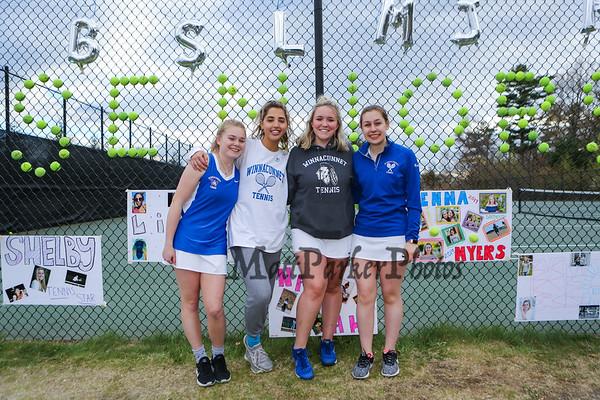 2019-5-15 WHS Girls Tennis vs Central