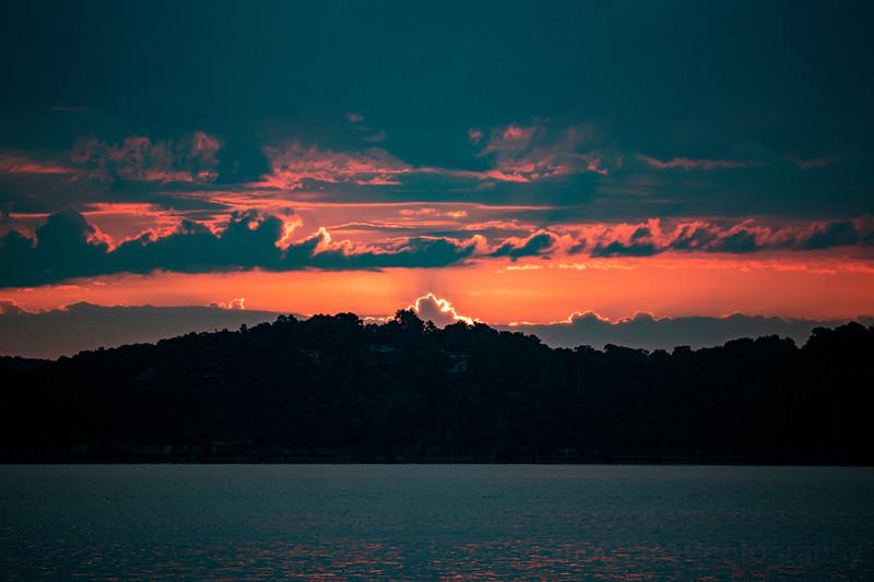 8.7.20 - Sunrise over Rivercliff.