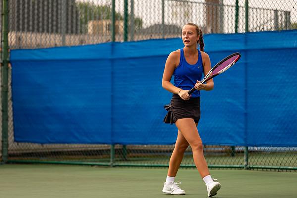 Girls Tennis vs DeSales