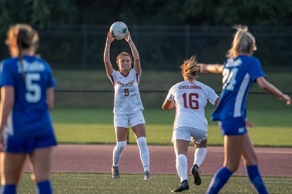 ISU Soccer vs Drake 08/17/19