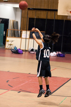 Presidio Panthers Girls Basketball 2012