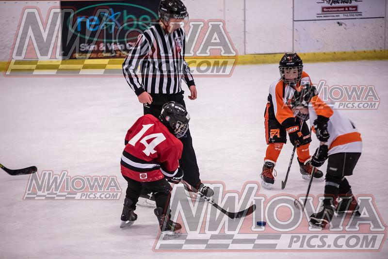 Fairmont Red vs Ames Orange