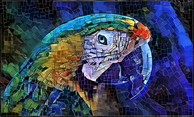 Parrot Portrait Big