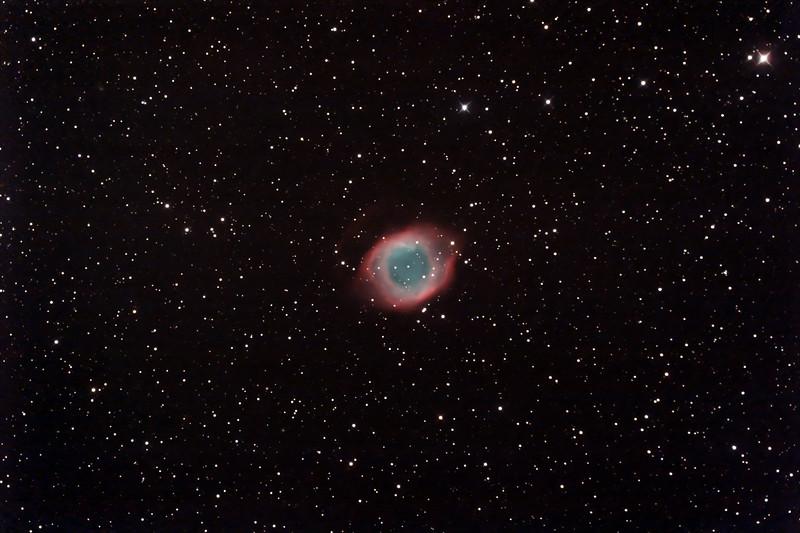 Caldwell 63 - NGC7293 - Helix Planetary Nebula - 26/9/2014 (Processed stack)
