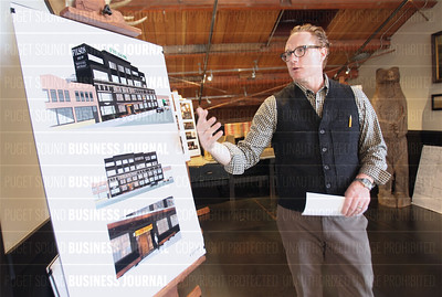 Filson chief executive officer Gray Madden speaks about his company's renovation plans for it's flagship retail space and headquarters building