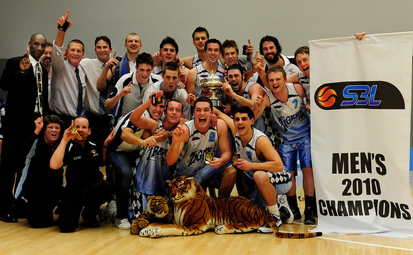 SBL Mens Grand Final - Tigers pounce on Lightning