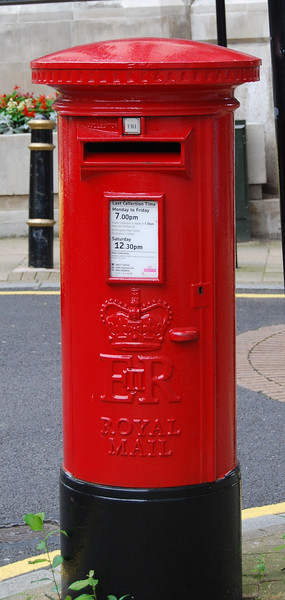 Pillar Box for British Mail