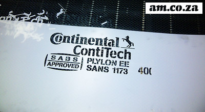 ContiTech of Continental Use Our Laser Machine to Make Stencil for Conveyor Belt