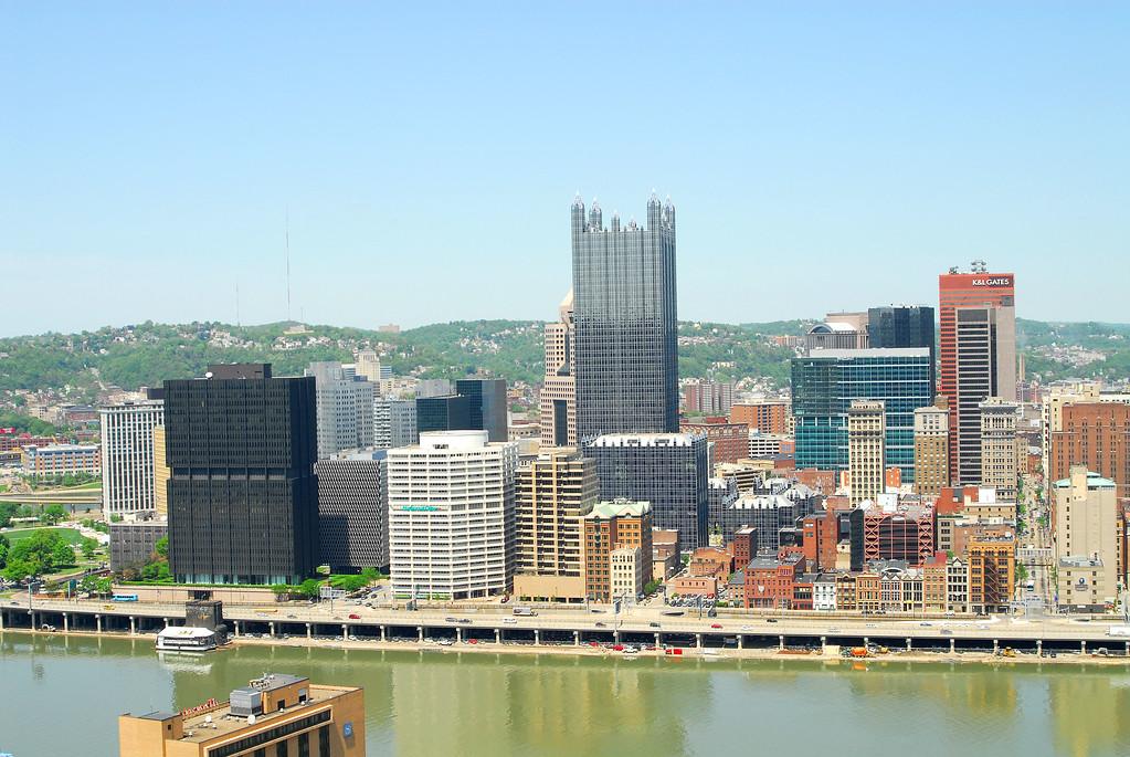 """Duntun"" (Downtown) Pittsburgh"