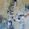 Layers of yesterday I-Ridgers, 40x40 painting on canvas JPG