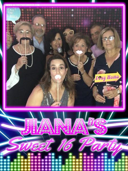 Jiana's Sweet 16 Party