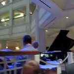 The Grand Floridian orchestra performs an adaptation of the theme song from The Muppet Show