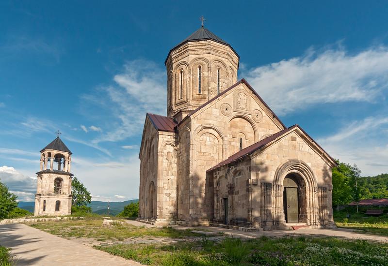 Nikortsminda Cathedral, Georgian Orthodox Church in the Racha region of Georgia