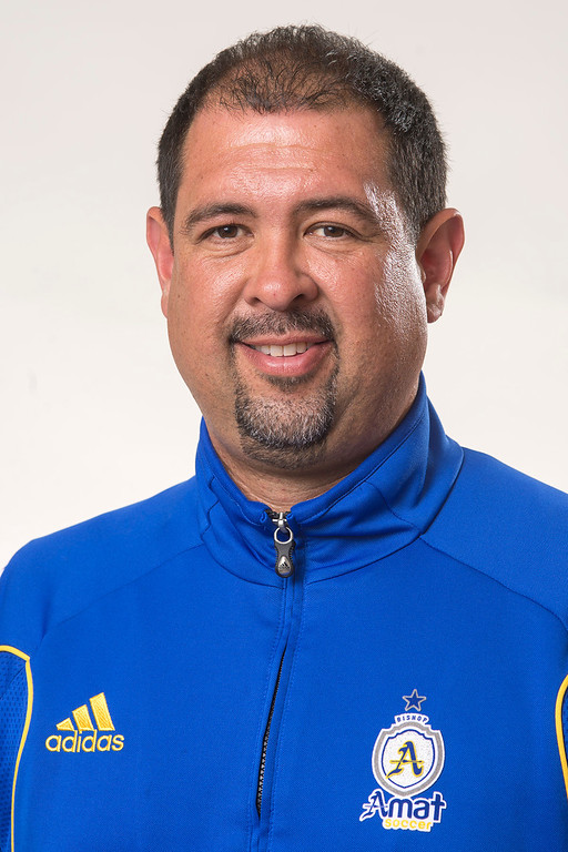 . Bishop Amat High girls\' soccer coach Ruben Gonzalez is  the SGV Tribune\'s coach of the Year March 25, 2013.  (SGVN/Staff photo by Leo Jarzomb)