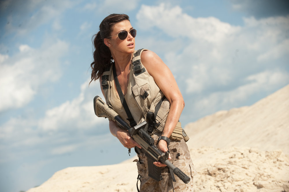 Description of . Adrianne Palicki plays Lady Jaye in G.I. JOE: RETALIATION, from Paramount Pictures, MGM, and Skydance Productions. (Jaimie Trueblood/Paramount Pictures)