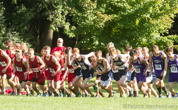 2016-09-14 Hillsdale Academy Cross Country at Jackson Christian