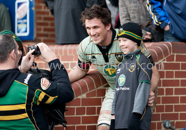 Leeds Carnegie vs Northampton Saints, Aviva Premiership, Headingley, 12 March 2011