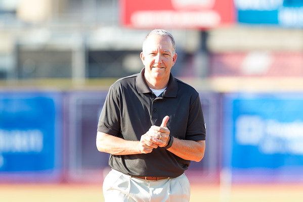 Mayor Horrigan, Akron, OH-ASG First Pitch July 12, 2016